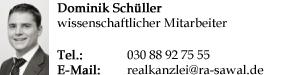 Signatur Schüller